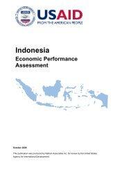 Indonesia Economic Performance Assessment - Economic Growth ...