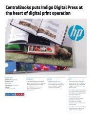 HP Indigo press 5500 | IT case study | CentralBooks | HP