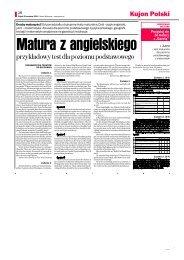 przykładowy test dla poziomu podstawowego - Gazeta.pl