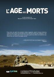 L' AGEDES MORTS - Playtime films