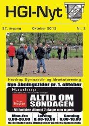 37.årgang - oktober 2012 - nr. 2 - HGI Nyt