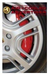 air*cooled advertiser - Hudson Champlain Region PCA - Porsche ...