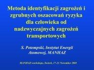 + n - MANHAZ - Instytut Energii Atomowej