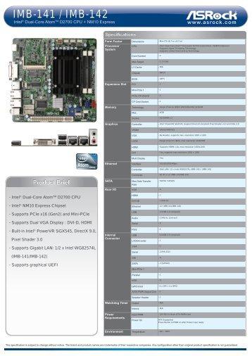 ASRock IMB-140 Series Realtek LAN Windows 8 X64
