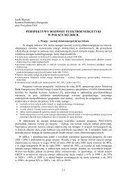 perspektywy rozwoju elektroenergetyki w polsce do 2020 r. - MANHAZ