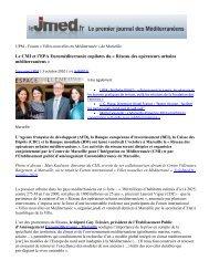 Le CMI et l'EPA Euroméditerranée copilotes du « Réseau des ...