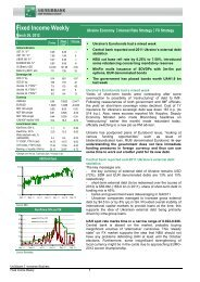 Fixed Income Weekly - BNP Paribas