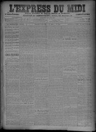 Dimanche 7 Juin 1908. - Bibliothèque de Toulouse