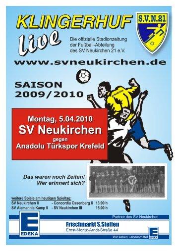 SVN и 1. Mannschaft - SV Neukirchen