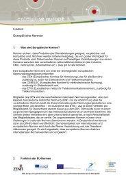 Europäische Normen (pdf-Format) - NRW.Europa