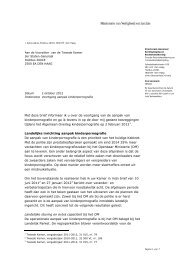 Met deze brief informeer ik u over de voortgang van de aanpak van ...
