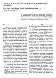 CONTROL DE ROEDORES EN LOS MUELLES DE ... - PAHO/WHO