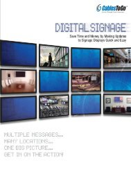 Digital Signage Successes - TigerDirect.com