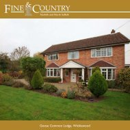 Goose Common Lodge, Wicklewood - Fine & Country