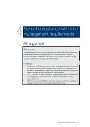 4 School compliance with fund management requirements - VAGO