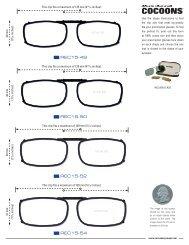 REC 15 Sizing Guide - OpticsPlanet.com
