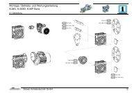 Montage / Betriebs- und Wartungsanleitung K-MG, K-MGD, K-MP ...