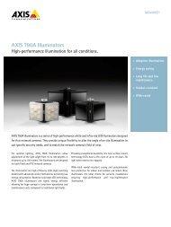 AXIS T90A Illuminators - IP Way