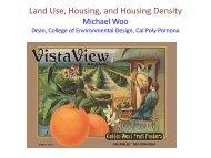 Land Use, Housing, and Housing Density