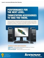 performance for the next level. thinkStation acceSSorieS - Lenovo | US