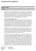 Pressemitteilung - Porsche Design - Page 2