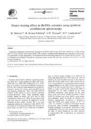 Download PDF-File - Positron Annihilation in Halle
