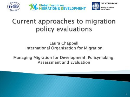 Current Approaches to Migration Policy Evaluations - Global Forum ...