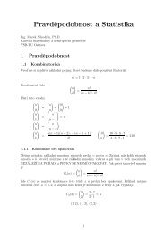 Přednášky z Pravděpodobnosti - HomeL