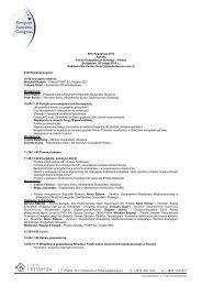 EEC Roadshow 2013 Agenda Forum Gospodarcze ... - p.wnp.pl