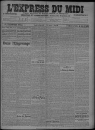 16 Mars 1911 - Bibliothèque de Toulouse