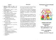 Flyer Gruppe Purpur - Jugendhilfe Anna - Stiftung ev