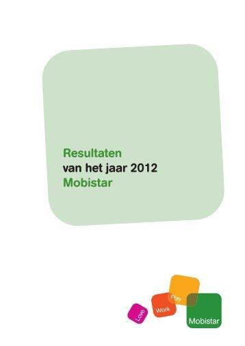 FY 2012 resultaten - Mobistar