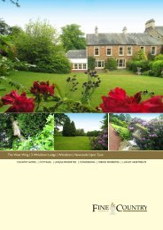 The West Wing | 3 Whickham Lodge | Whickham ... - Fine & Country