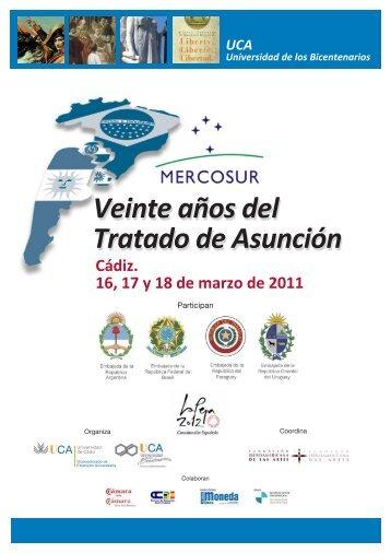 Programa del acto conmemorativo - Segib