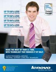 Download our Brochure - Lenovo | US