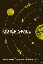Outer Space: Weapons, Diplomacy, and Security - Carnegie ...