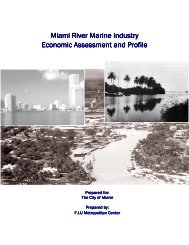 Miami River Marine Industry