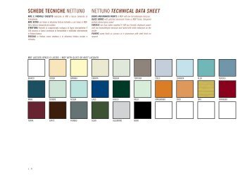 schede tecniche nettuno nettuno technical data sheet - Habitissimo