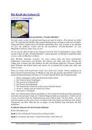 Die Kraft des Gebets (2) - oneness 24