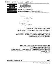 leach & garner company north attleboro, massachusetts ammonia