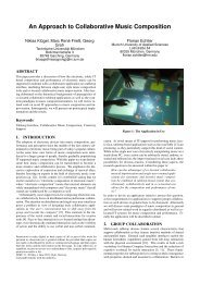 An Approach to Collaborative Music Composition - Technische ...
