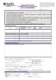 Formulaire version pdf