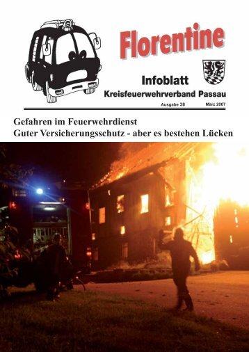 Gefahren im Feuerwehrdienst Guter Versicherungsschutz - aber es ...