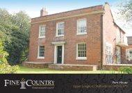 Fern House Upper Longdon | Staffordshire | WS15 ... - Fine & Country