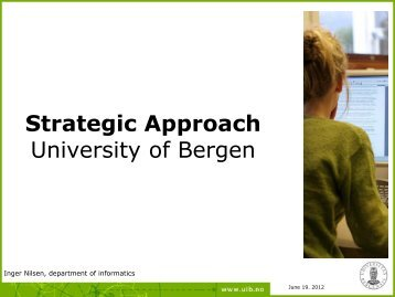 Strategic Approach - Open DC