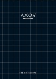 Axor collection of products - CMS