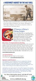 Crabfest Rack Card2 - Dungeness Crab & Seafood Festival - Page 2