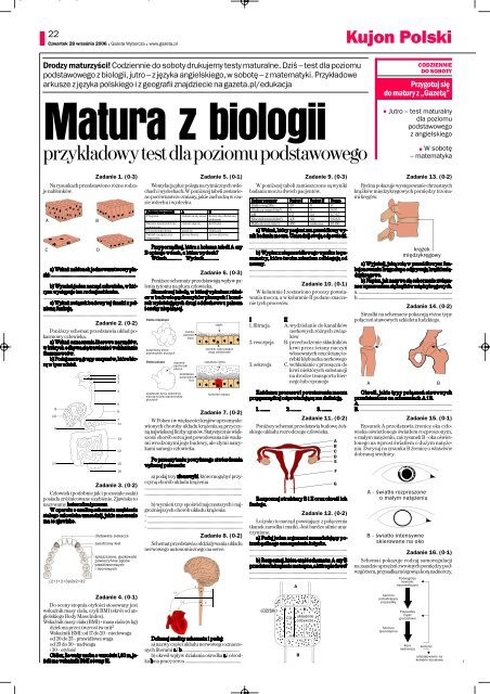egzamin - biologia-1.qxd - Gazeta.pl