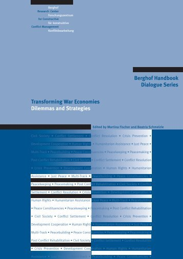 Transforming War Economies. Dilemmas and Strategies - Berghof ...