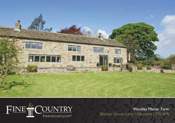 Woolley Manor Farm Blacker Green Lane ... - Fine & Country